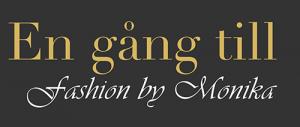 En gång till fashion by Monika svart logga